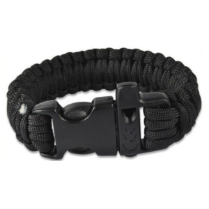 AirForceOne Paracord 550 Bracelet Black