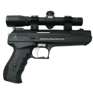 Single Stroke Pneumatic (SSP) Air Pistol & PAO Tactical Laser Combo