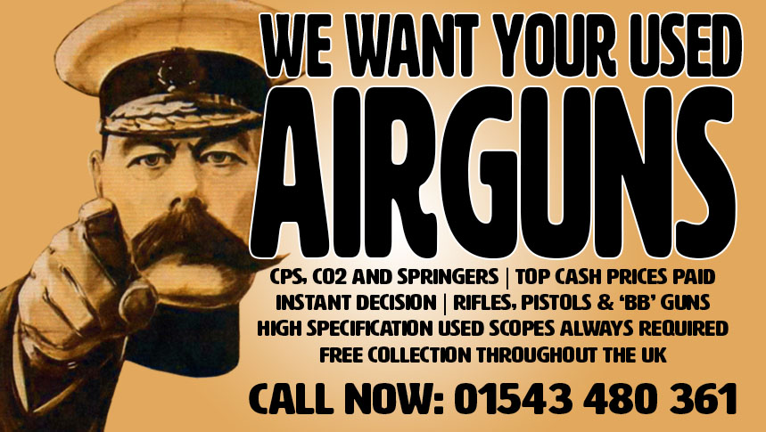Cheap Air Rifles, Air Guns and Air Pistols for Sale, West Midlands